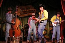 Disneyland Billy Hill and the Hillbillies DVD CD Knotts Berry Farm Disney World
