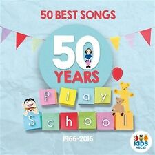 PLAY SCHOOL 50 Best Songs 50 Years CD BRAND NEW Playschool