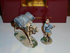 BRITIANS 27030 WAR ALONG THE NILE BRITISH CAMEL CORPS TROOPER + PACK CAMEL NO.1.