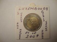LUXEMBOURG 2€ Commémo UNC Palais DUCAL 2007 RARE