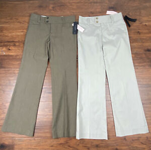 2 Pairs! NWT! Banana Republic Sloan Fit Pants Sz. 0P