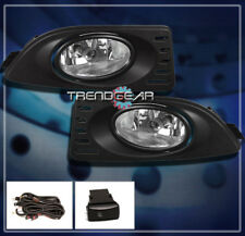 2005 2006 2007 ACURA RSX COUPE 2DR JDM BUMPER DRIVING CHROME FOG LIGHTS+HARNESS