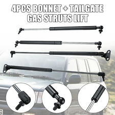 2Pair Tailgate Gas Struts Lift + Bonnet For Toyota Land Cruiser 100 Series 98-07