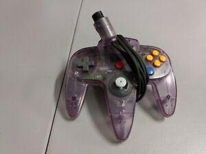 Nintendo 64 N64 Atomic Purple Controller Tested