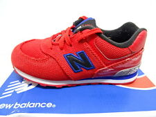 New Balance KL574WSI Kids/Enfants Size  US 10M Red Sneakers Shoes