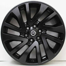 18 inch Genuine NISSAN NAVARA 2016 MODEL ALLOY WHEELS IN CUSTOM MATTE BLACK