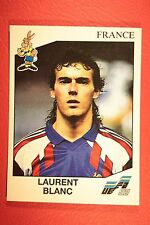 Panini EURO 92 N. 49 FRANCE BLANC NEW WITH BLACK BACK TOP MINT!!