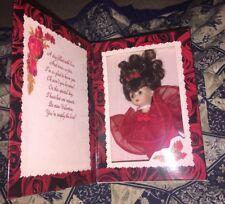 NIB Marie Osmond Greeting Card Doll  Valentine's Day