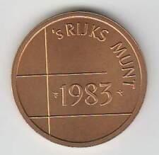 Nederland Rijksmunt 1983 uit muntset (bkl)