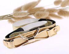 Pretty European noble leather gold cummerbund women fashion waist belt