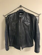 Requiem Leather Custom Motorcycle Style Jacket Black XL