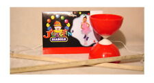 Plastic Bowl Diabolo Juggling Spinning Chinese Yo Yo Classic Toy with Hand