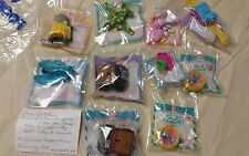 Mcdonalds happy meal toys 1995 Polly Pocket & ATTACK PACK full set! NEW SEALED