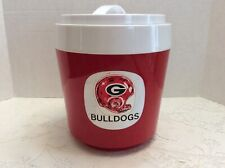 Vintage Stewart UGA Georgia Bulldogs Ice Bucket Made in England