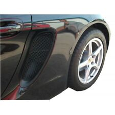 Zunsport BLACK rear side grille set for Porsche Boxster 981