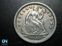 1854 P Seated Liberty Dime --  MAKE US AN OFFER!  #B7844