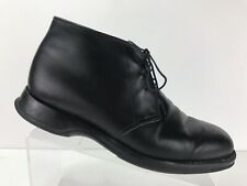 Church's Durham Black Leather Chukka Ankle Boots Casual lace Mens US 7.5 EU 40.5