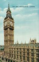 VINTAGE BIG BEN, WESTMINSTER, LONDON POSTCARD - UNUSED - VALENTINE'S
