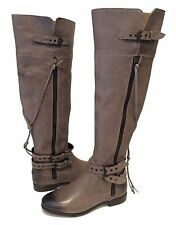 UGG Collection NICOLETTA Riding Boots Over The Knee Gray US 7 /EUR 38 /UK 5.5