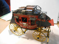 diligence franklin mint wells fargo & compagnie 1/16 Stagecoach Side and Top