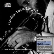 "Don Ellis ""LIVE"" Tampa Florida 1976 CD (NEW)"