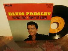 """elvis presley""""hound dog.""""rca 49782(J) du 09/1971.single7""""fr.languette"""