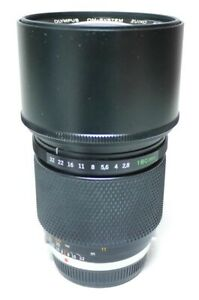Olympus Zuiko Auto-T OM 2.8 180mm Objektiv An-Verkauf!  ff-shop24