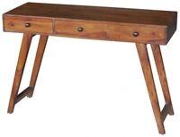 Schreibtisch Massivholz Sheesham Palisander Möbel