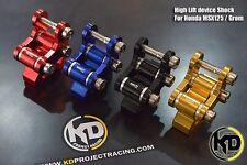 Honda GROM MSX 125 Custom High Lift Device Shock Set-Up  Sale+++
