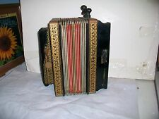 VINTAGE HOHNER 1 ROW  BUTTON BOX 3 STOP ACCORDION MELODEON MADE IN GERMANY