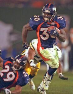 Terrell Davis Denver Broncos UNSIGNED 8X10 Photo