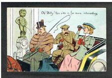Bruxelles - Manneken-Pis - Carte Postale humoristique non circulée.