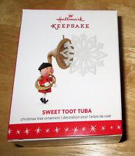 2016 Hallmark Keepsake ~ Sweet Toot Tuba Christmas Ornament - BRAND NEW