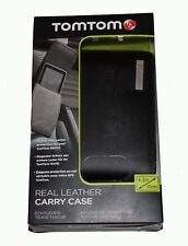 GENUINE TomTom Leather Carry 4.3'' Case for Start 20, ONE XL,XL, VIA, GO,GO LIVE