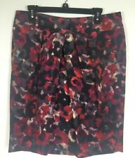 Jones New York Collection NWT $99 Size 12 Women's Skirt Fitted Pencil Floral
