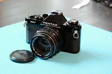 Pentax MV Spiegelreflexkamera mit Pentax 50mm 1:2 Objektiv (ähnlich ME)