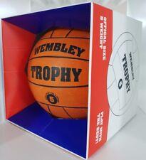 Wembley Trophy retro football / soccer ball + presentation box