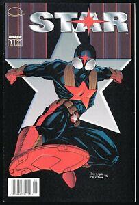 Star #1 newsstand variant NM- Image RARE 1995