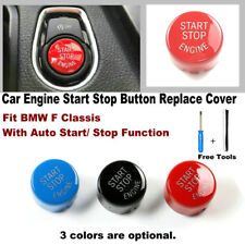For BMW X1 X3 X5 F10 F20 F30 F25 F48 Car Start Stop Engine Button Replace Cover