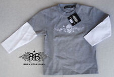 RSB Rock Star Baby sweat pull rock & ROLL FOREVER NEUF 2-4 J 04-99/B5