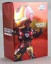 Beast Kingdom Iron Man 2 Mini Egg Attack LED MARK VI MK 6 Figure 100% Authentic