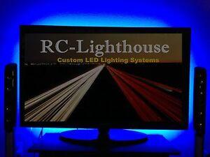"TV Television Back Light - Super Bright 3528 LED LIght Strips 60"" inches"