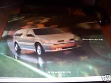 Oldsmobile Silhouette 2000 Brochure