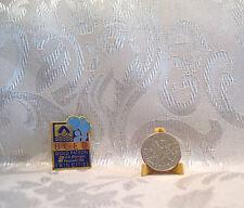 USA BCED PATRON U.S. Olympic Festival Rainbow Foods 1990 Hat Lapel Pin Badge