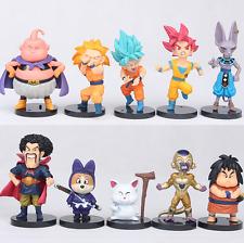 10pcs Dragon Ball Z 4 generation Anime Figure Toys Set Collection Playset Kids