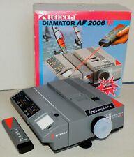 Rétroprojecteur Reflecta Hobby Corde DIAMATOR AF 2006 MC-IR avec Agomar 2,4/90mm. MC