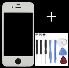 Front Glas Scheibe für Apple iPhone 4 Frontglas Display Weiss mit Werkzeug