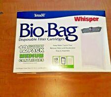 Tetra 26160 Whisper Bio-Bag Cartridge, Unassembled, Medium, 12-Pack, New