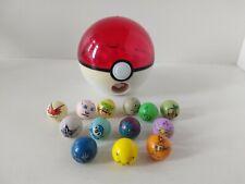 Jakks 2007 Pokémon Pokeball Marble Shooter with 13 Marbles Nintendo License
