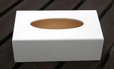 Taschentuchbox Kosmetiktücherbox Tücher Box Tissue Kiste Kosmetikbox Holz Weiss